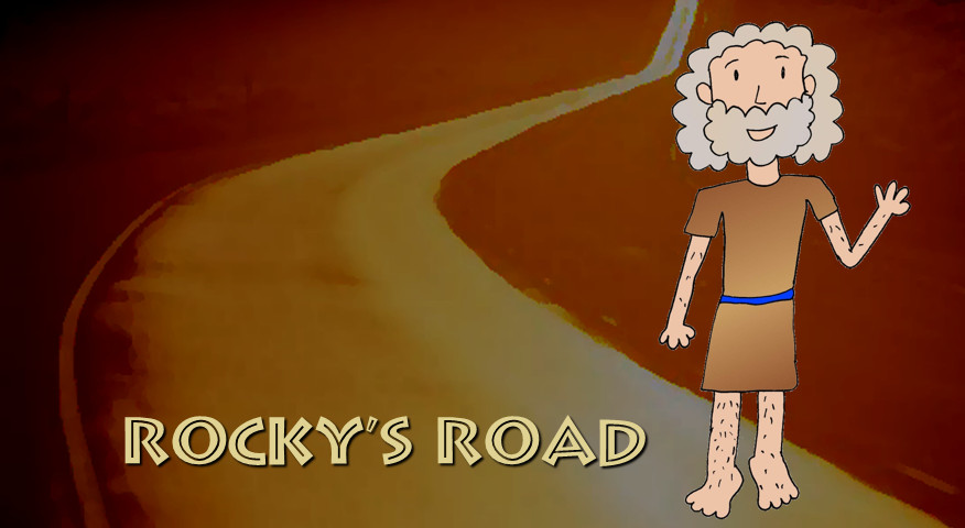 Peter on Rocky's Road