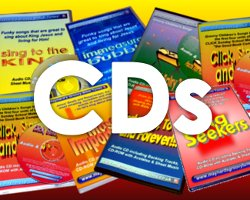 CDs of Childrens songs for 24-7 Worship