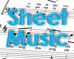Sheet Music for Children's Bible Songs