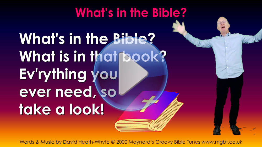 What's in the Bible Video image