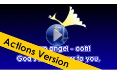 """I'm an Angel - OOH!"" Video File - Full Track with Actions / Motions"