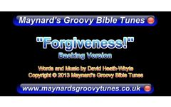 """Forgiveness..."" Video File - Backing / Instrumental Track Version"