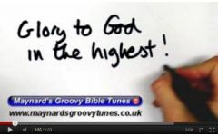 """Glory to God"" Video File - Backing Track Version"