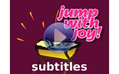 """Hush! There's a baby... (Jump with Joy version)"" Video File with Subtitles"