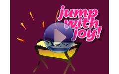 """Hush! There's a baby... (Jump with Joy version)"" Video File"