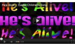 """He's Alive!"" Video File - Backing Version"