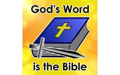"""""""God's Word is the Bible"""" Video File"""