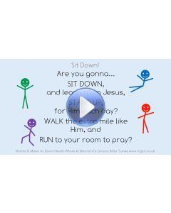 """""""Sit Down (Are you gonna...)"""" Video File - Full Track"""