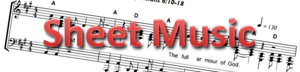 Sheet Music Banner